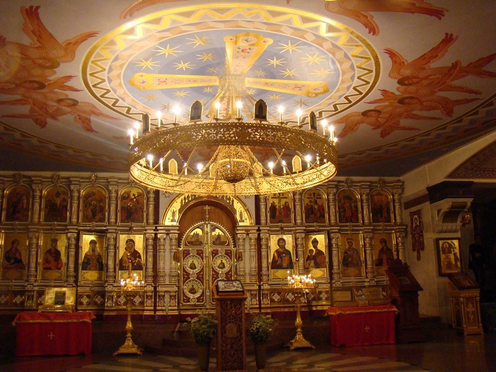 Kathedraal op het bloed Jekaterinaburg Rusland