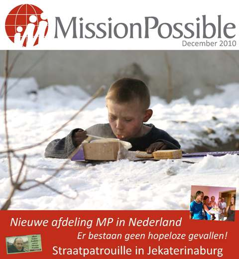 Cover Mission Possible nieuwsbrief 2010 -12