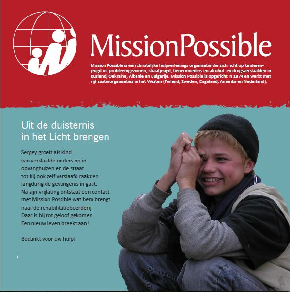 Cover Mission Possible nieuwsbrief 2012 -12