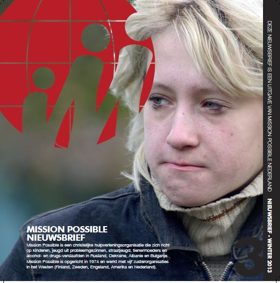 Cover Mission Possible nieuwsbrief 2013 -12