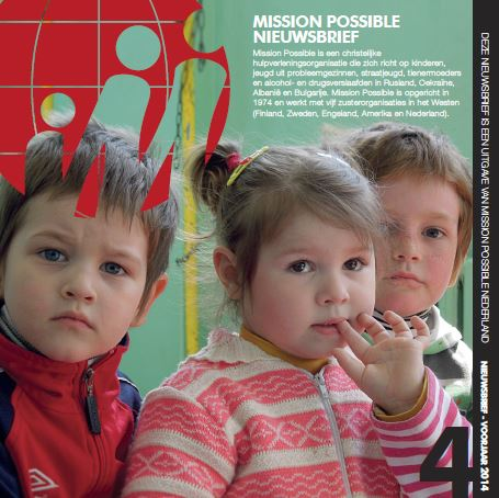 Cover Mission Possible nieuwsbrief 2014 -5