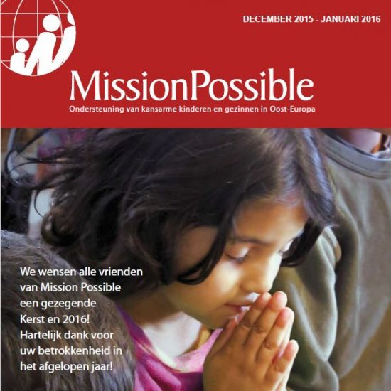 Cover Mission Possible nieuwsbrief 2016 -1