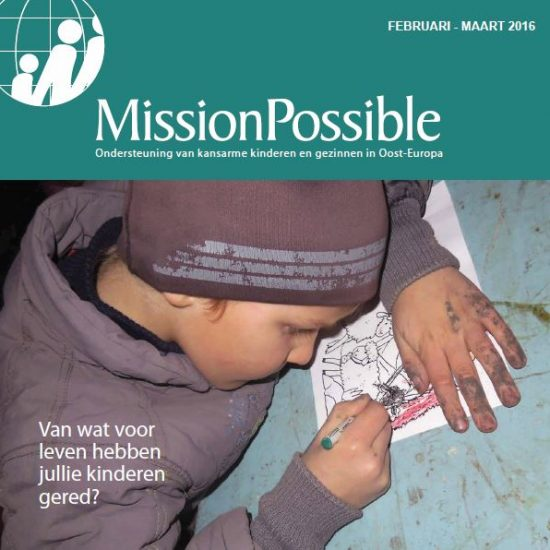 Cover Mission Possible nieuwsbrief 2016 -3