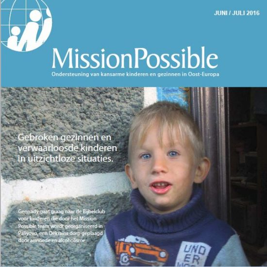 Cover Mission Possible nieuwsbrief 2016 -7