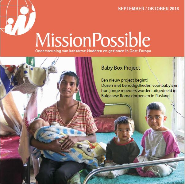 Cover Mission Possible nieuwsbrief 2016 -9
