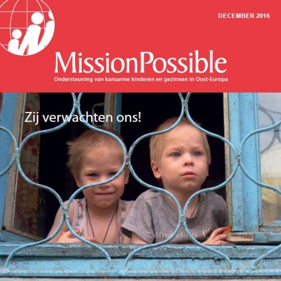 Cover Mission Possible nieuwsbrief 2016 -12