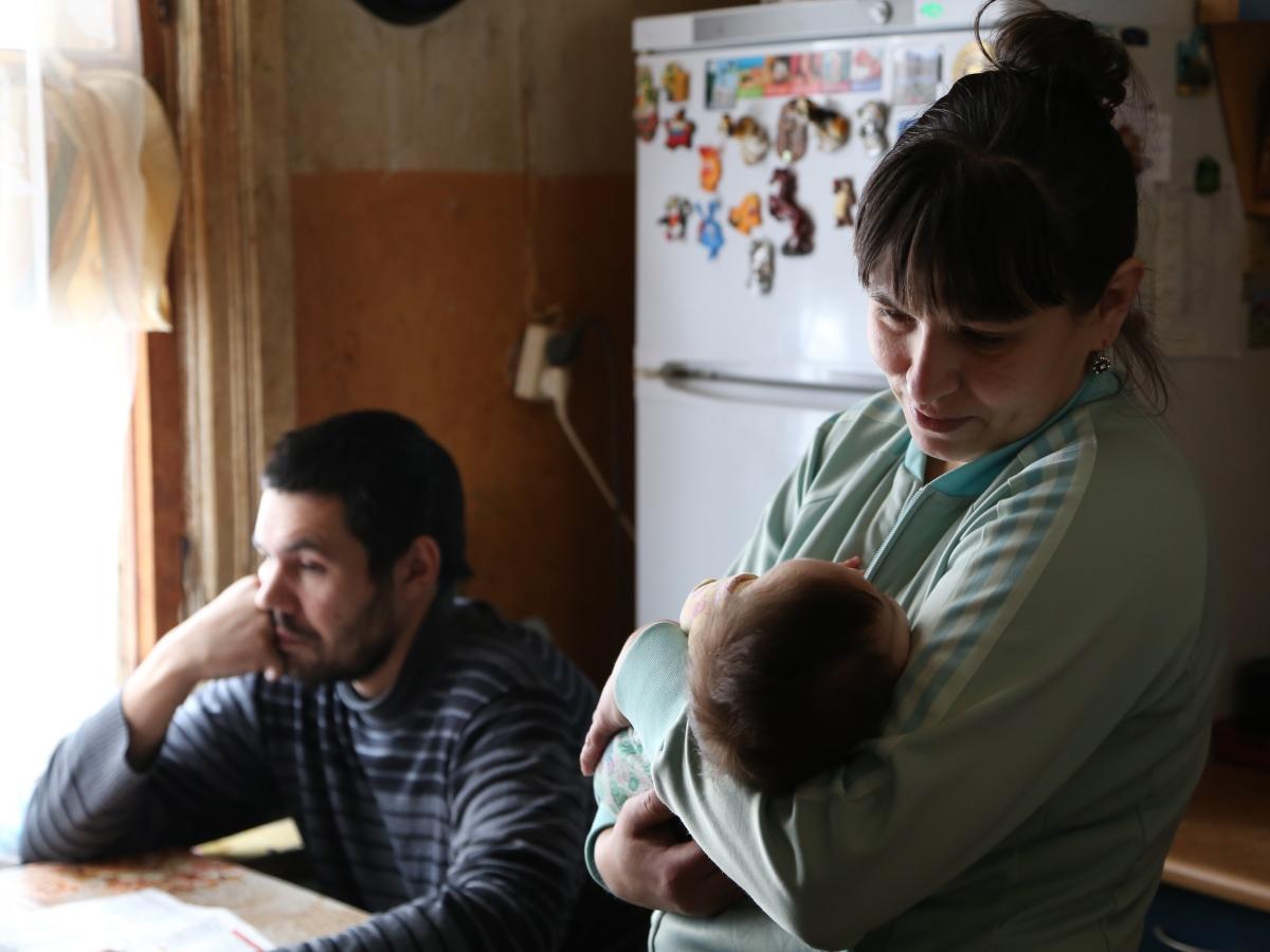 Probleem gezin Rusland