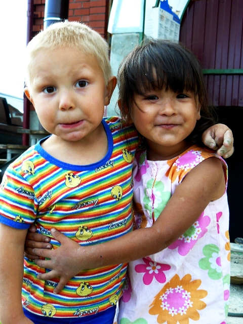 Kinderen Jekaterinaburg Rusland