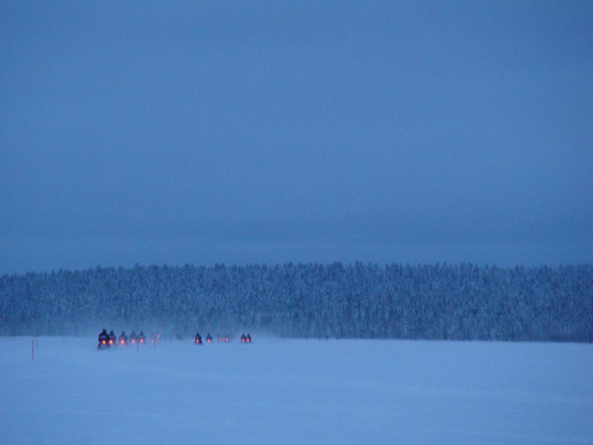 sneeuwlandschap Zweden