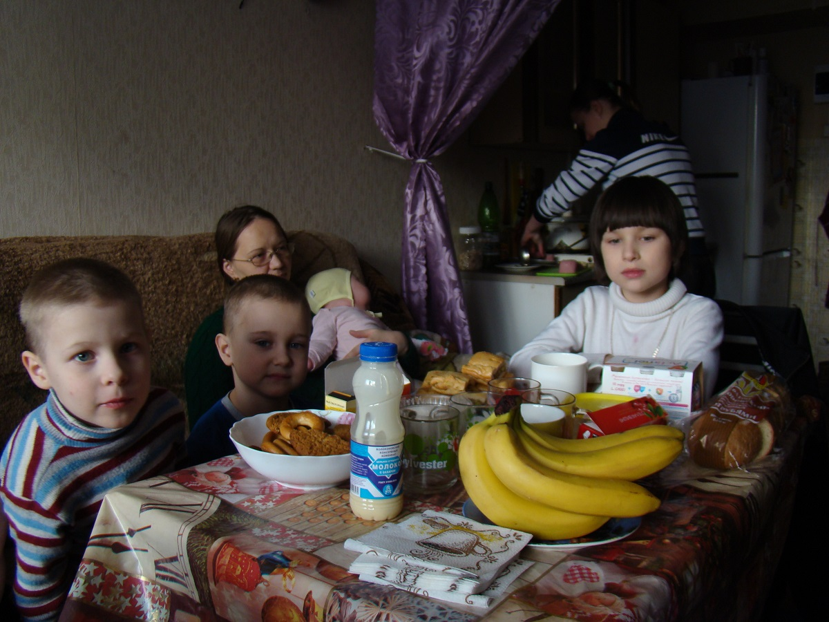 Gezin Zlatoust Rusland