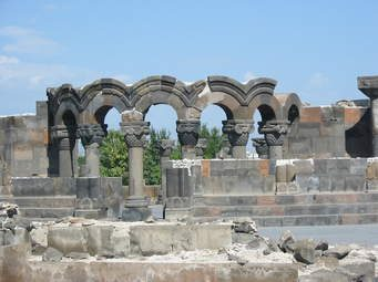Armenie Zvartnots