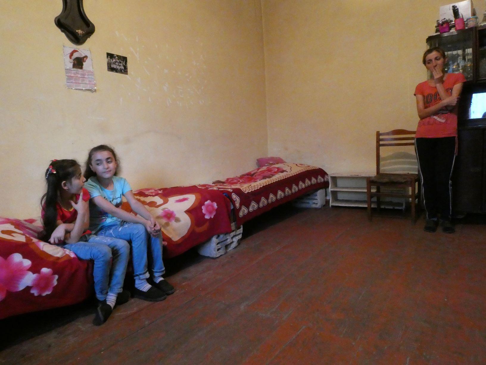 Gezin uit Ijevan, Armenië