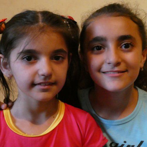 kinderen uit Ijevan, Armenië