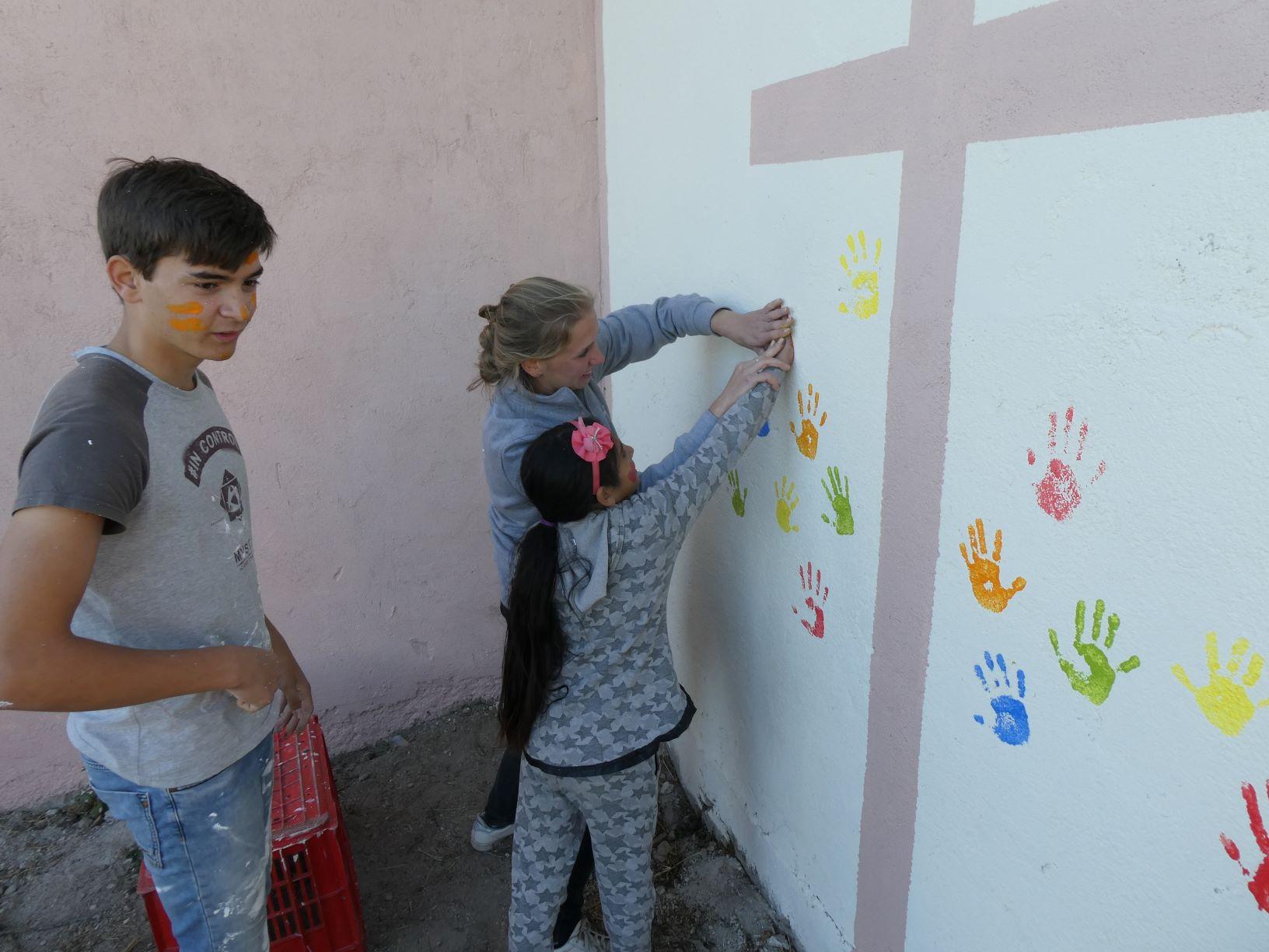 Werkvakantie jeugd Ermelo Roma kerk Xristo Danovo Bulgarije