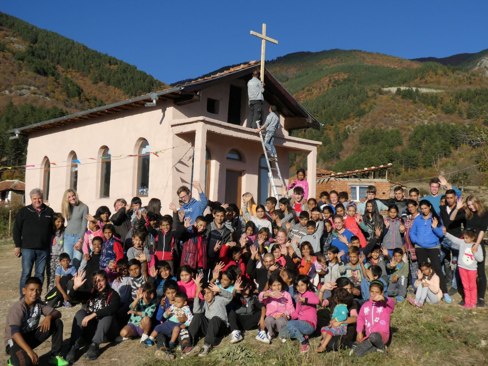 Werkvakantie jeugd Westerkerk Bulgarije