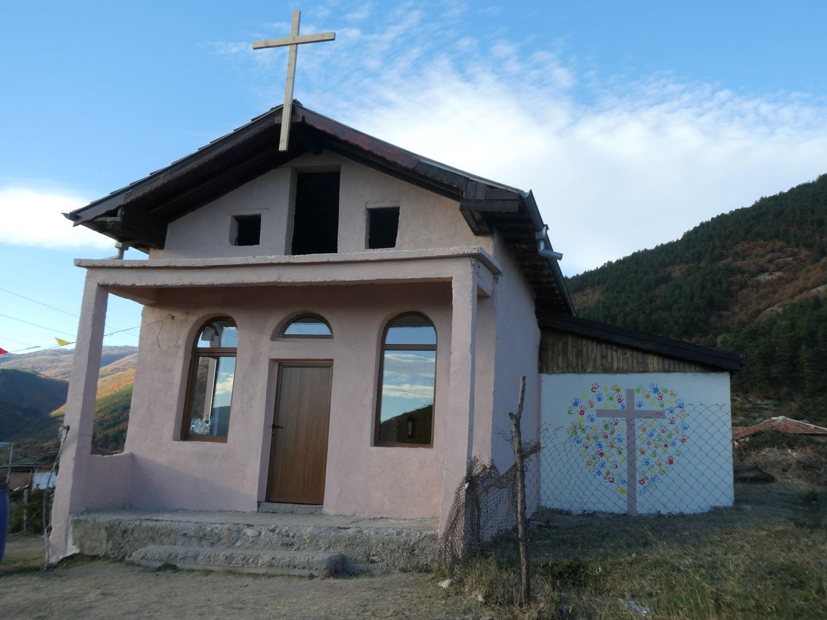 Roma kerk Xristo Danovo Bulgarije