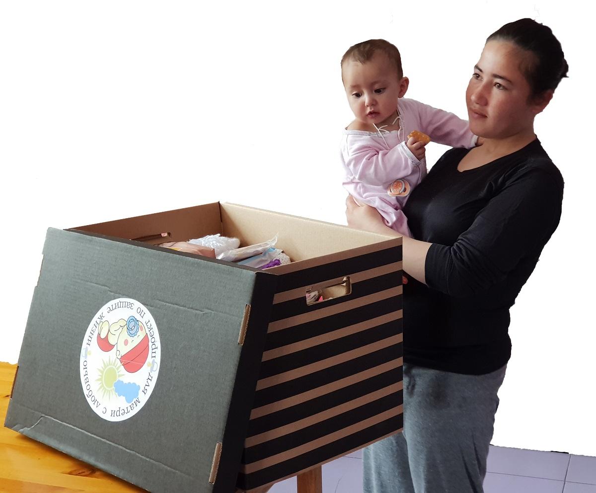 Babybox voor tienermoeder