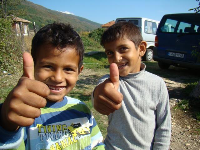 Periodieke gift, Roma-kinderen Bulgarije