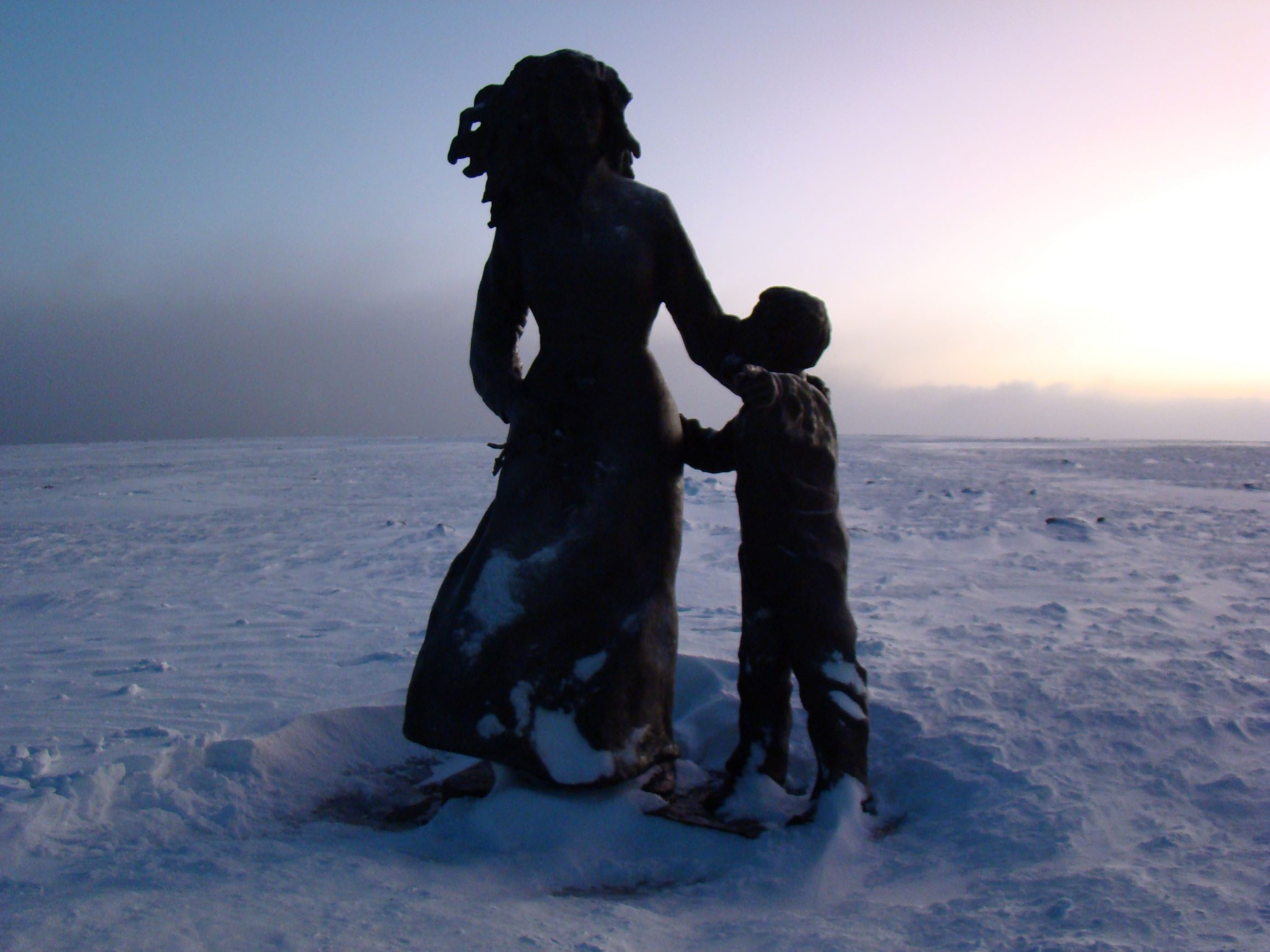 Moeder-en-Kind-Noordkaap