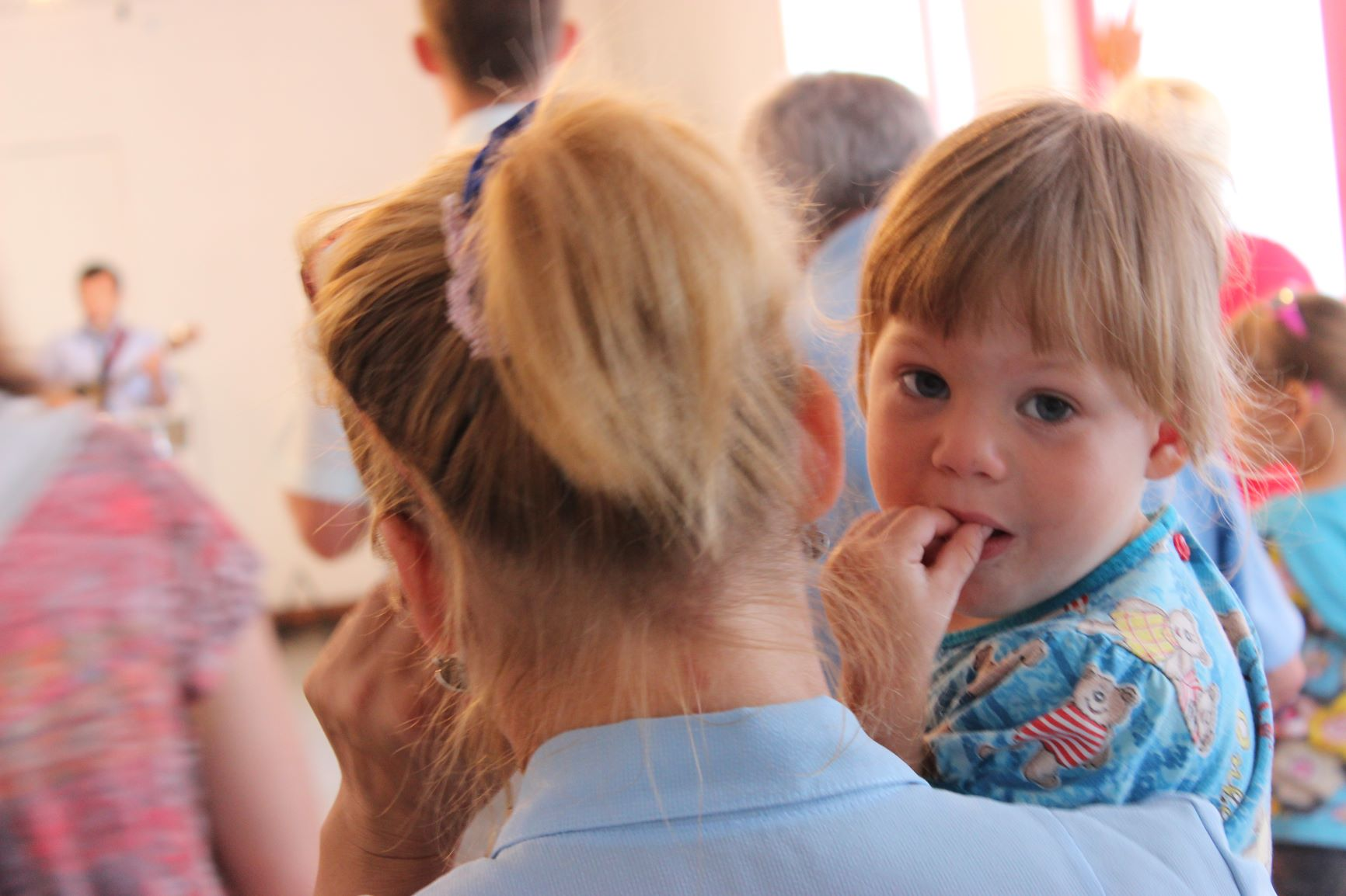 Julia met dochter Opvang Rusland Huiselijk geweld