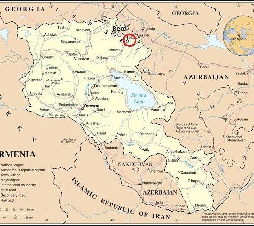 Armenie-Berd
