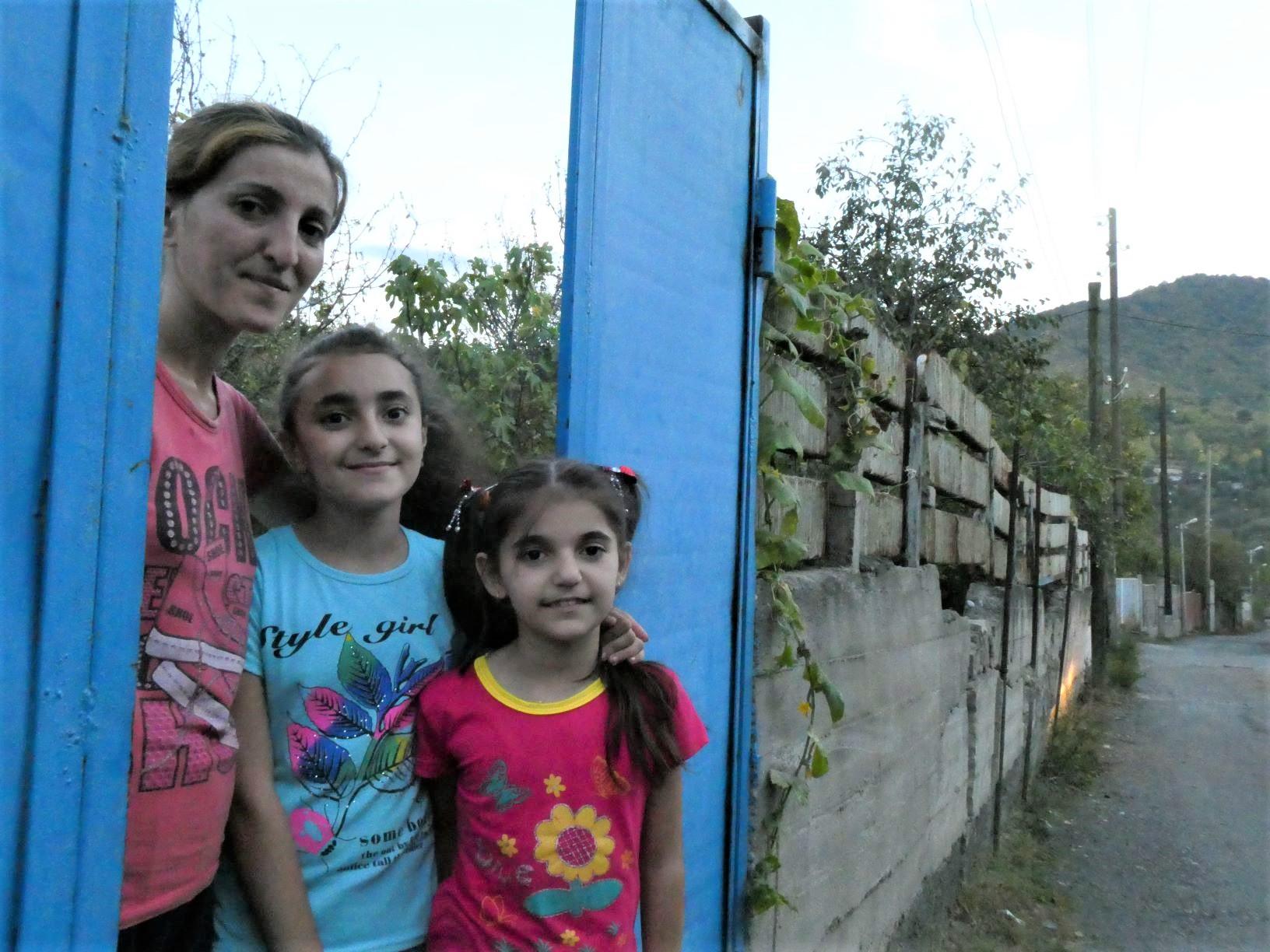 Mission Possible Armenie gezin Ijevan