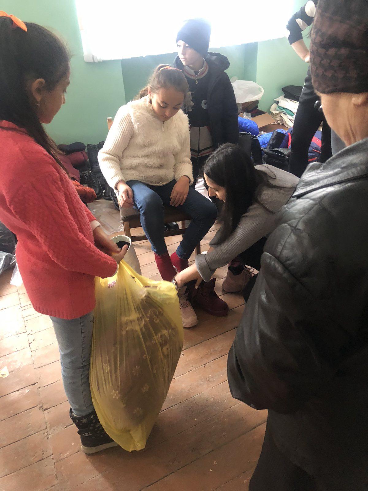 Mission Possible Vluchtelingen Artsakh Brandhout