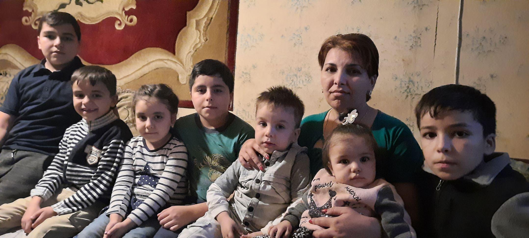 Vluchtelingen Artsakh - Goris