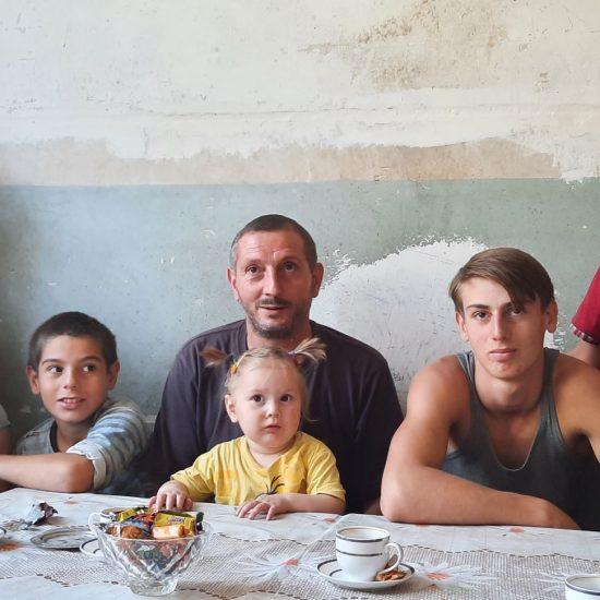 Vluchtelingengezin Artsakh