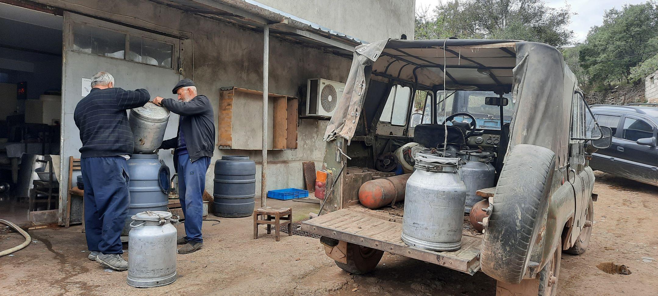 Melkfabriek Dzoraghyugh Armenie
