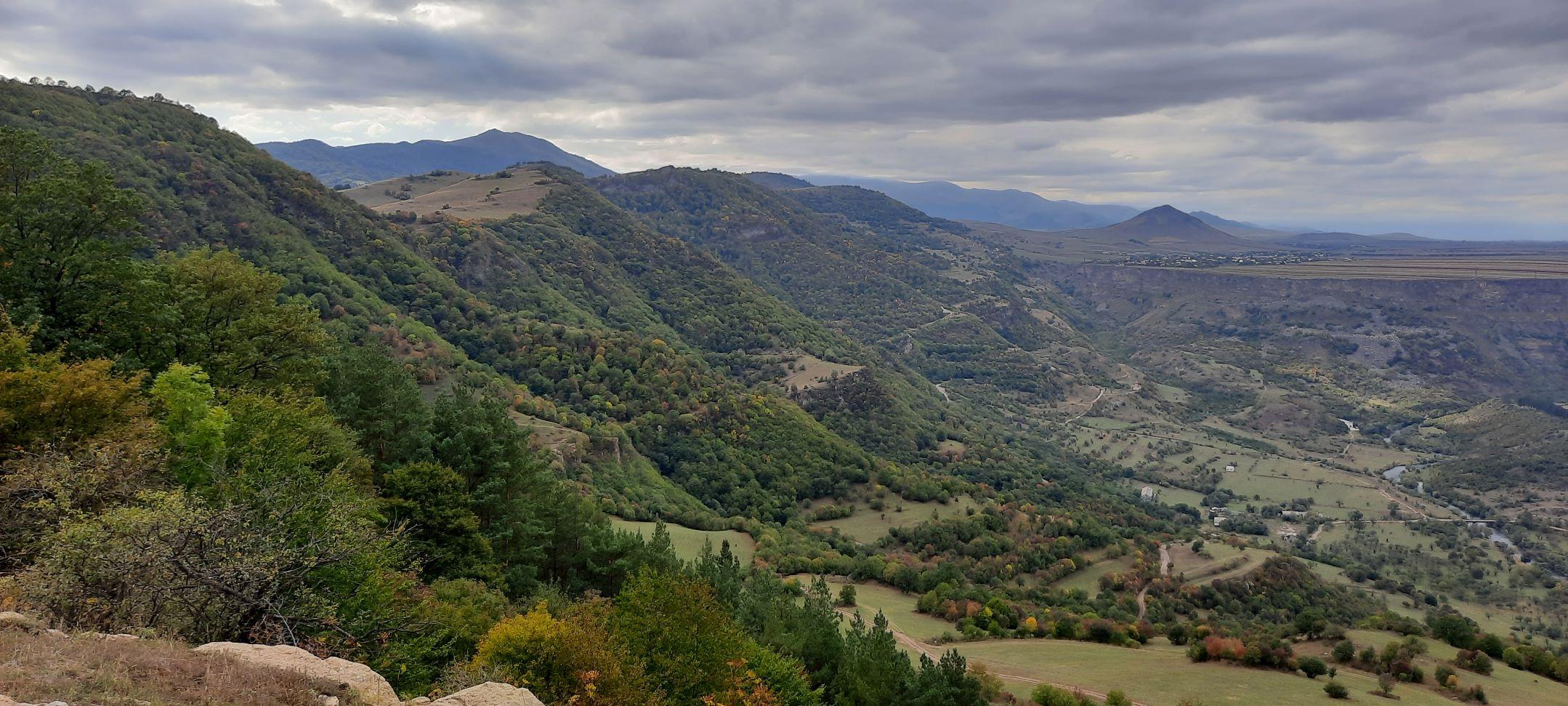 Uitzicht Dzoraghyugh Armenie